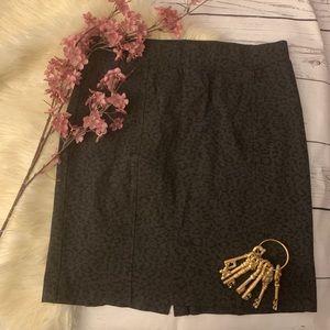 NYDJ Animal Print  Pencil Skirt Size XL